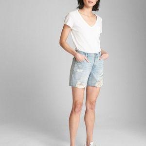 GAP Denim Shorts with Distressed Detail